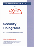 Security Holograms