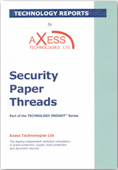 Security Paper Threads